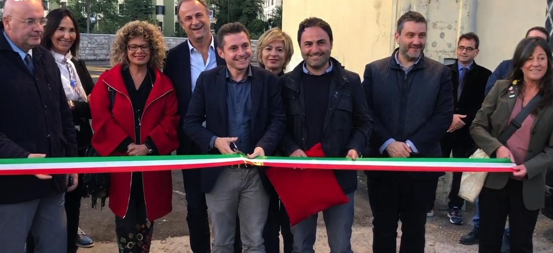 Inaugurato il parcheggio di San Pietro in Castello